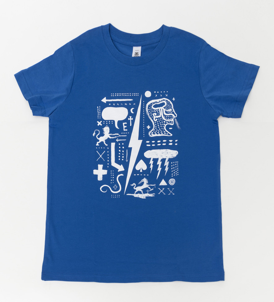 Underworld 2 T-shirt:  Blue Kids