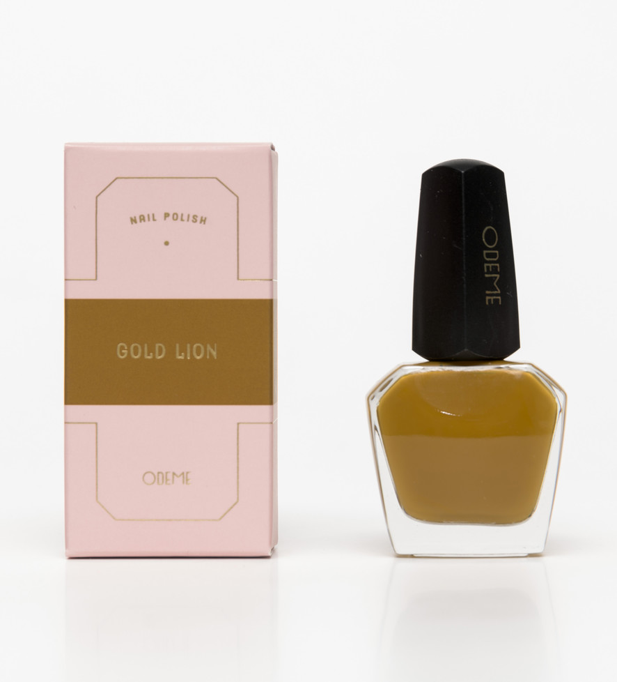 Odeme Nail Polish – Gold Lion