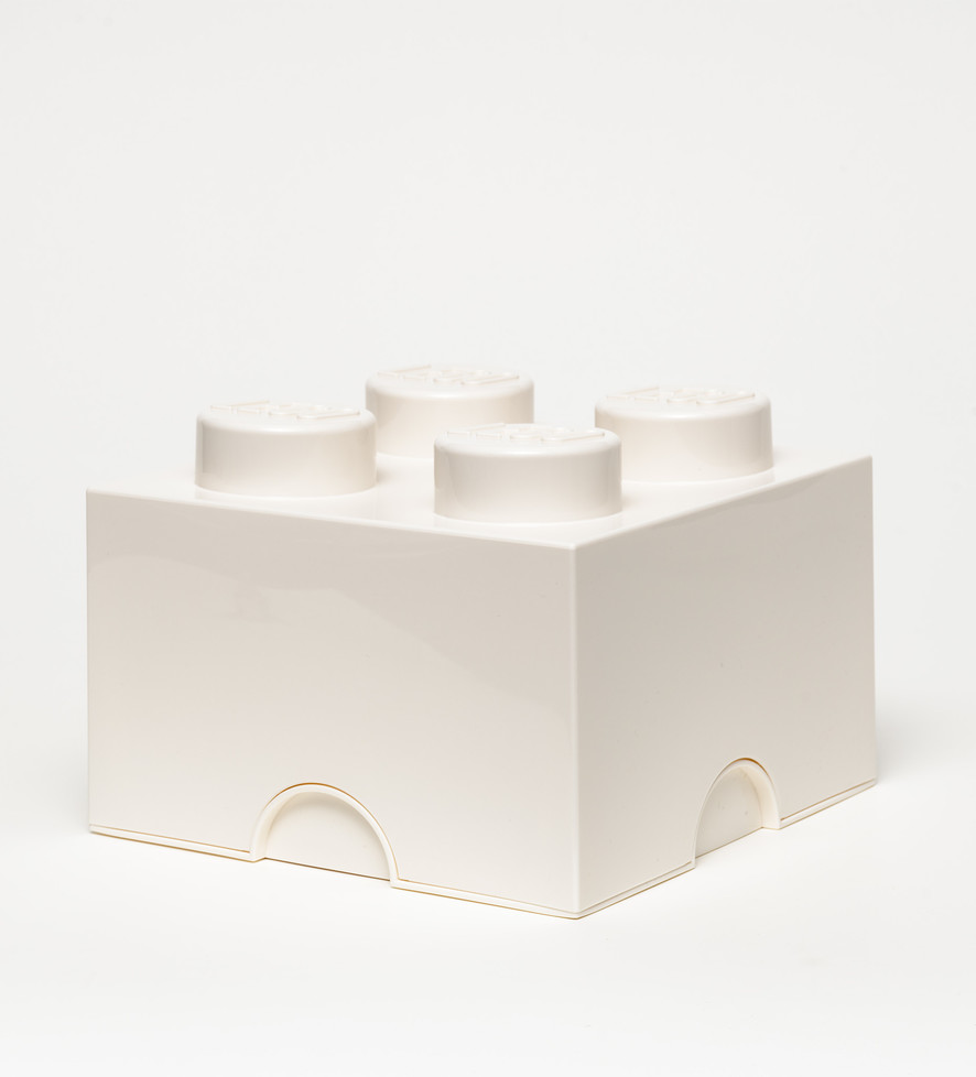 LEGO Storage Brick 4 White