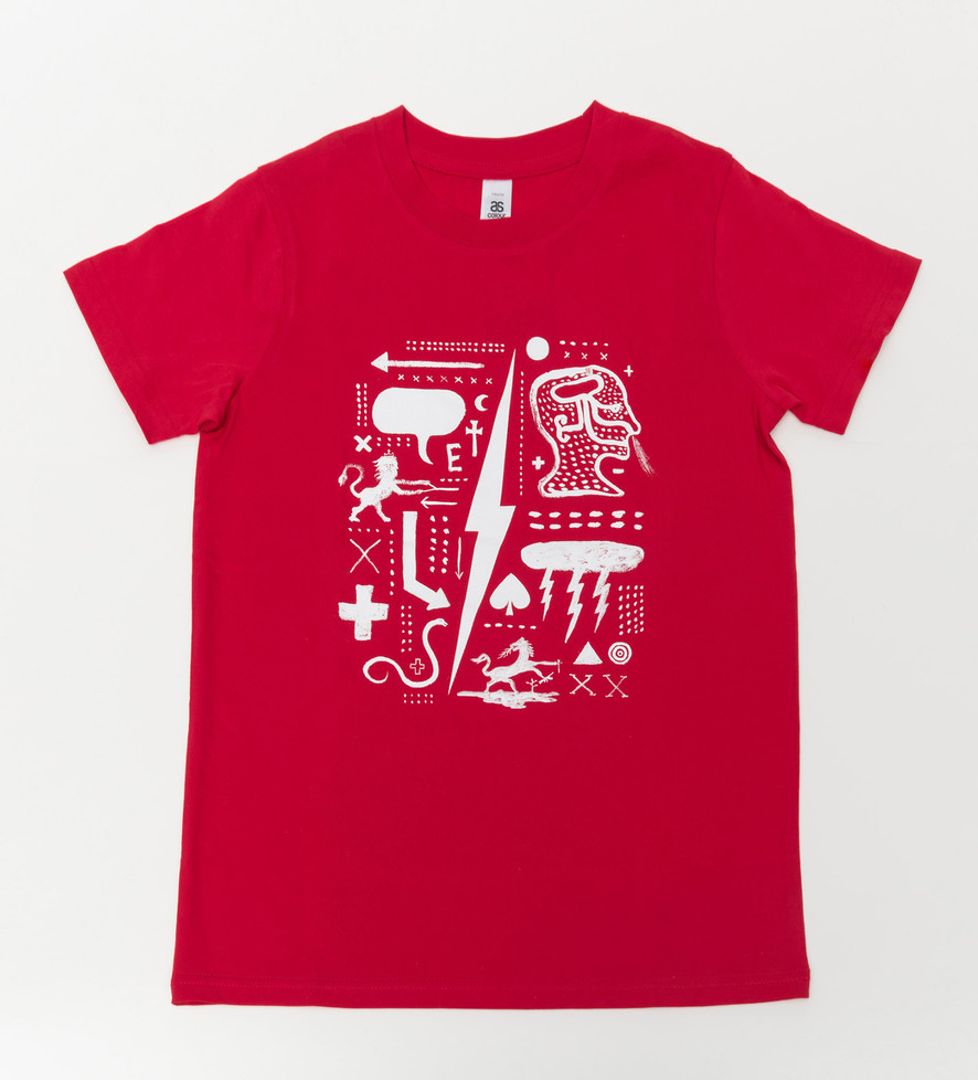 Underworld 2 T-shirt: Red Kids